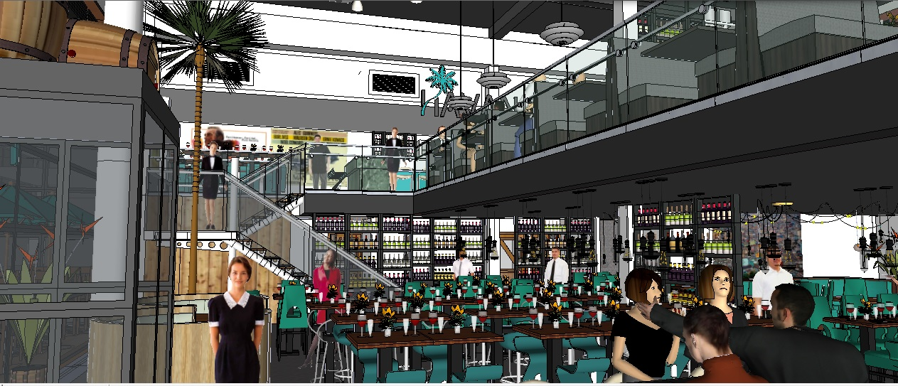 Cuban Restaurant Concept, Wakefield